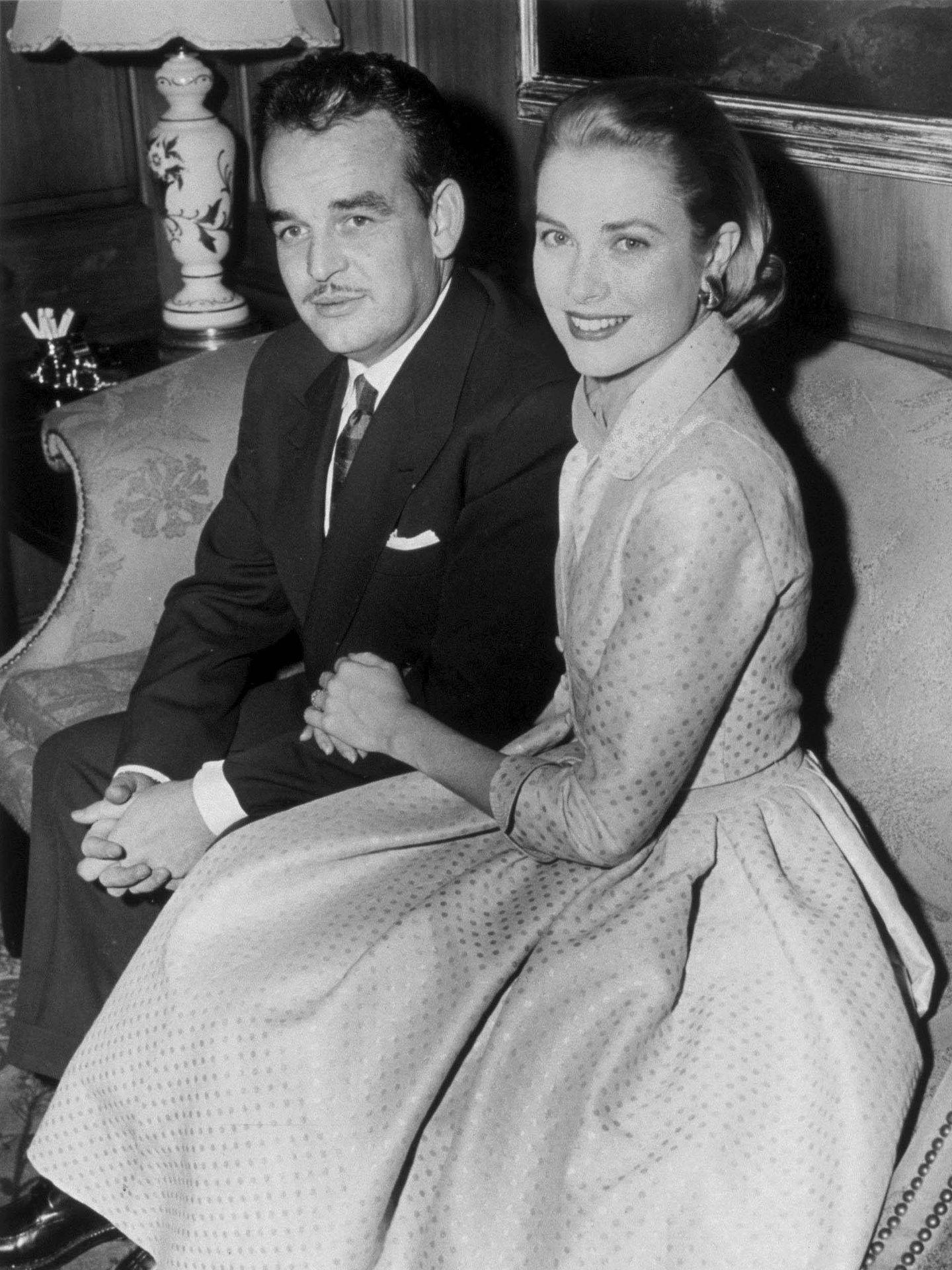 Rainiero de Mónaco y Grace Kelly. (EFE)