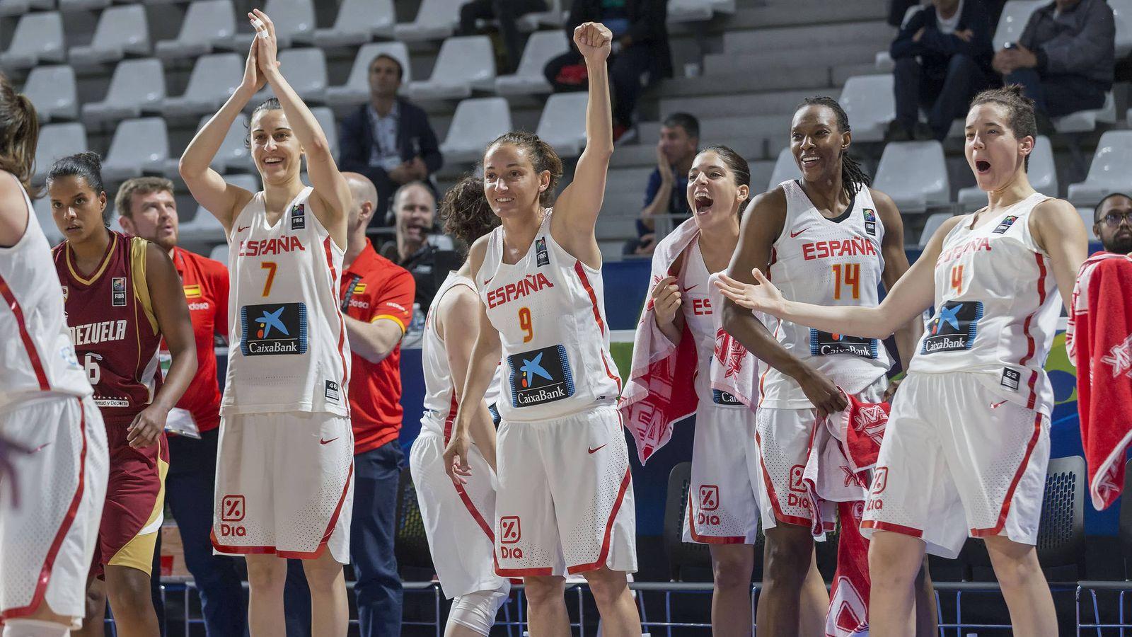 Foto: España consiguió su segunda victoria en el Preolímpico (Foto: FEB)