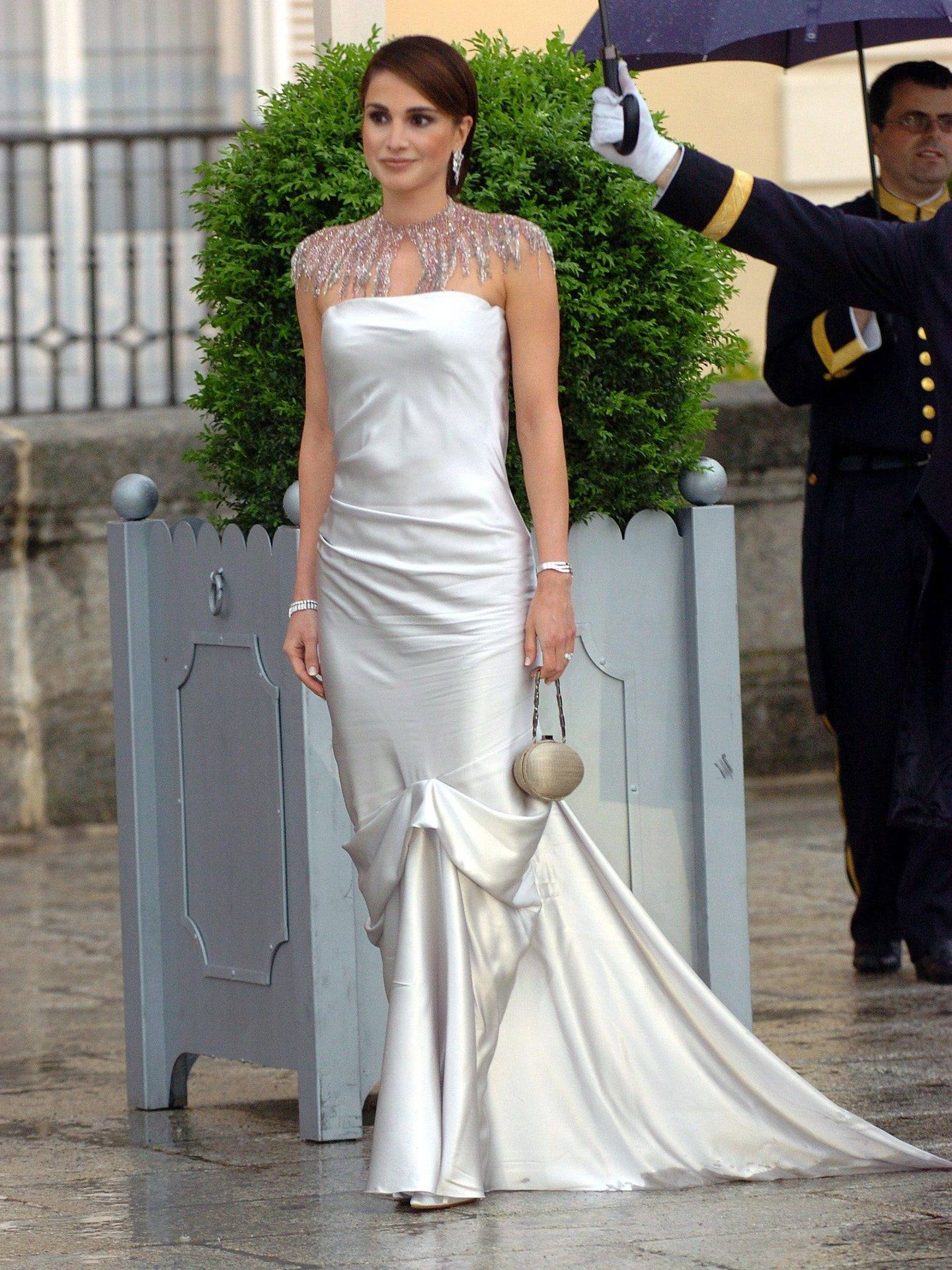 La reina Rania de Jordania. (Gtres)