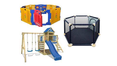 Los parques de juegos para niños para que aprendan divirtiéndose en casa