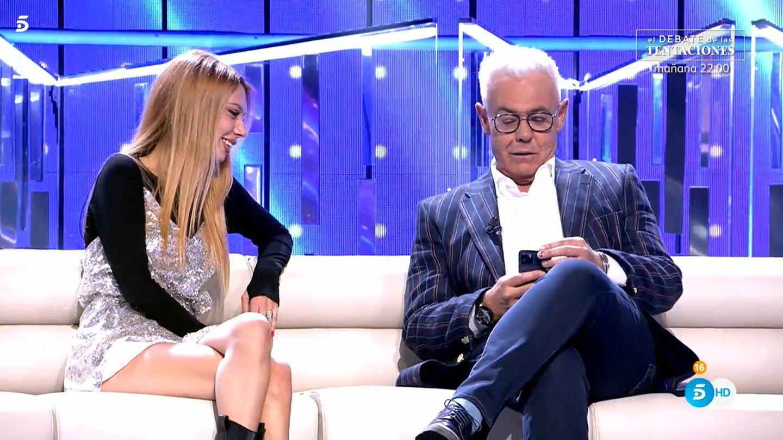 Alejandra Rubio y Jordi González, en 'Secret Story'. (Mediaset)