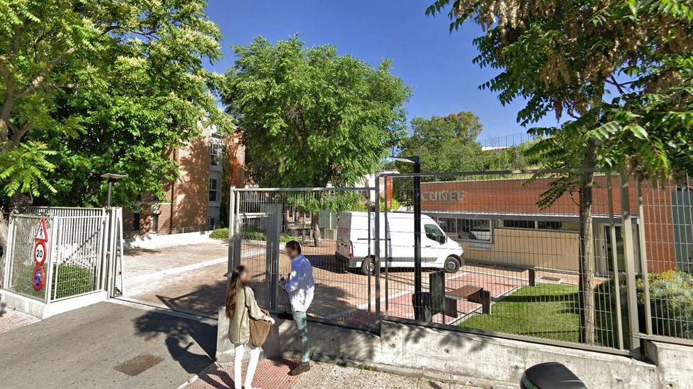 Foto: Exterior del campus de Cunef. (Google Maps)