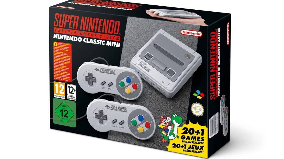 Nintendo lo vuelve a hacer: anuncia una SNES Mini (que esperamos llegue a las tiendas)