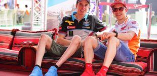 Post de El consejo de Marc a su hermano Álex para decir no o las precipitaciones en MotoGP