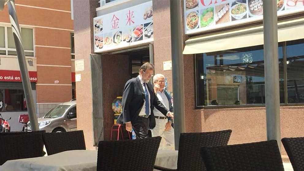 Rajoy ya trabaja en Santa Pola: Lo que pueda decir ya es poco relevante