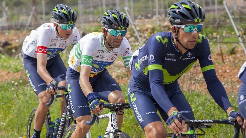 Foto: Valverde no se conformó con ser líder, quiso el triunfo de etapa. (@VoltaCatalunya)