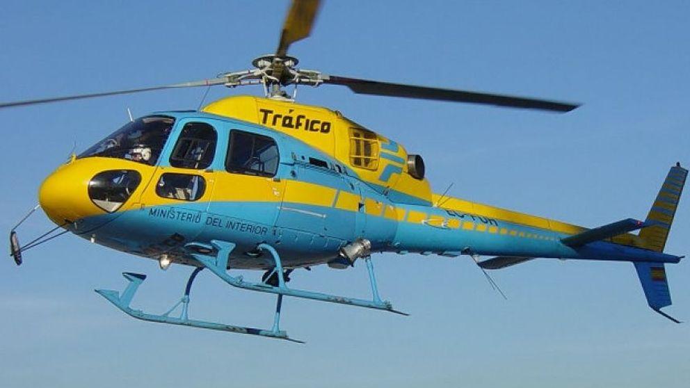 Los ojos que te verán desde el cielo: drones y helicópteros que la DGT usará este verano