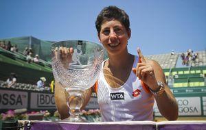 A la tercera fue la vencida: Carla Suárez levanta el título en Portugal