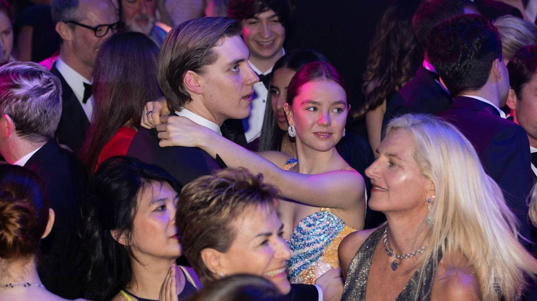 Alexandra de Hannover y Ben-Sylvester Strautman en el Baile de la Rosa. (Cordon Press)