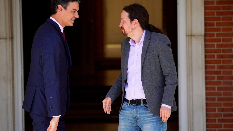 Sánchez se reunió ayer en secreto con Iglesias: las posturas siguen muy alejadas