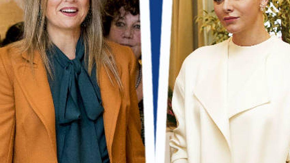 Estilo Real: del peinado de Charlène a la obsesión por el 'orange' de Máxima