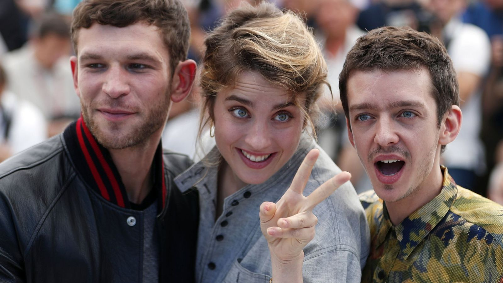 Foto: Los protagonistas de '120 battements par minute' | EFE