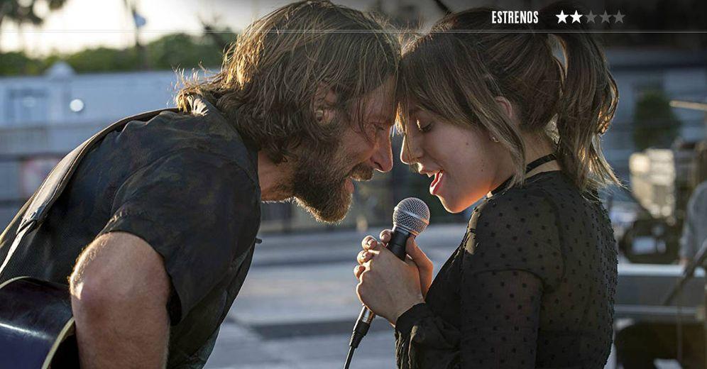Foto: Bradley Cooper y Lady Gaga protagonizan 'Ha nacido una estrella'. (Warner)