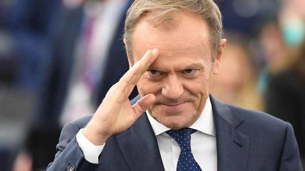 Foto: Donald Tusk, presidente del Consejo. (EFE)
