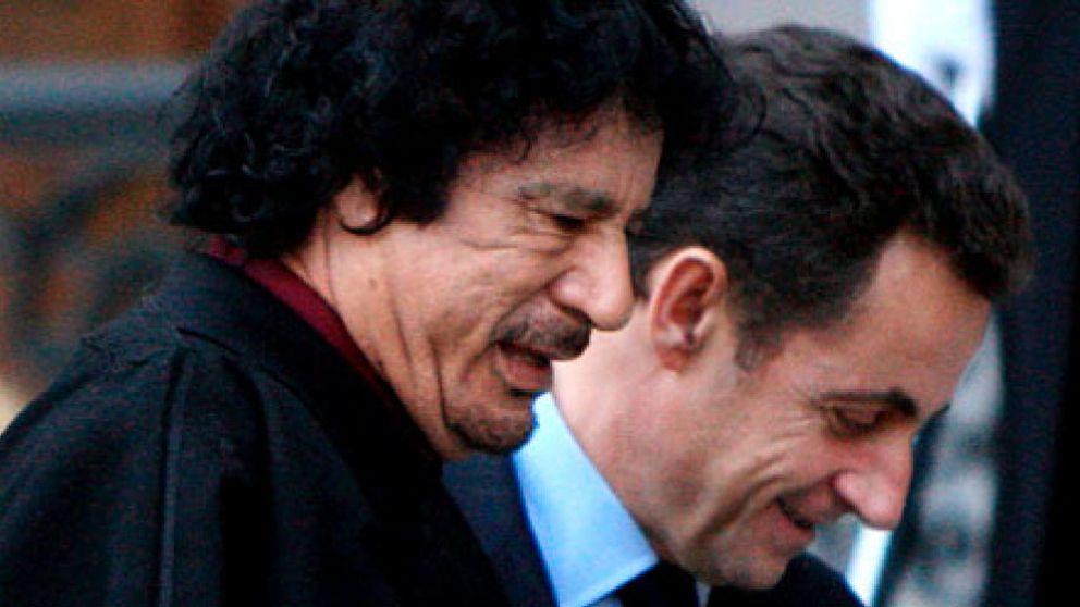 Un documento prueba que Gadafi financió la campaña de Sarkozy