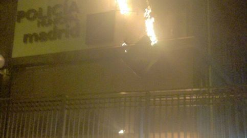 La ruina de las 'comisarías' de Carmena: una se incendia, otra se hunde y la tercera se cae
