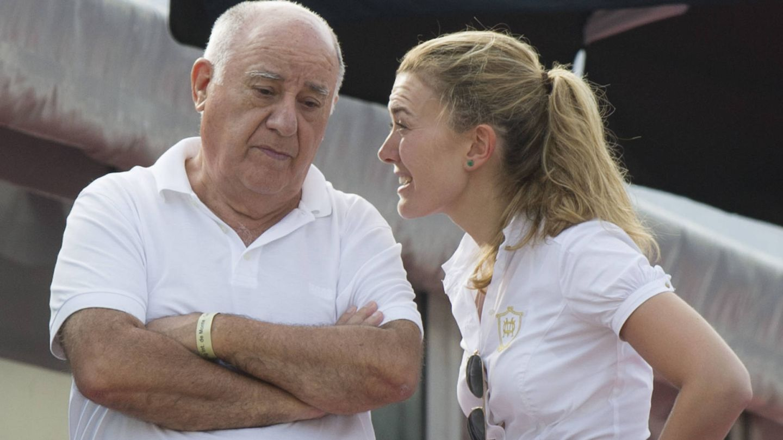 Amancio y Marta Ortega. (Getty)
