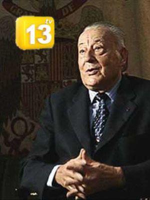 El canal católico 13tv rememora el 23-F con el falangista Blas Piñar