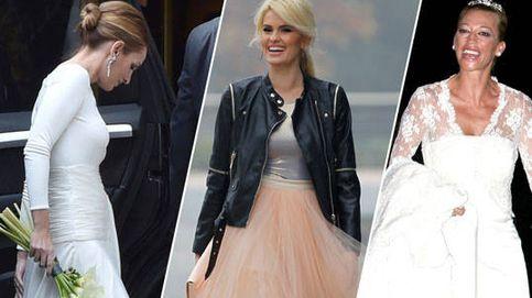 Aprueba o suspende los siguientes vestidos de novia de nuestras famosas