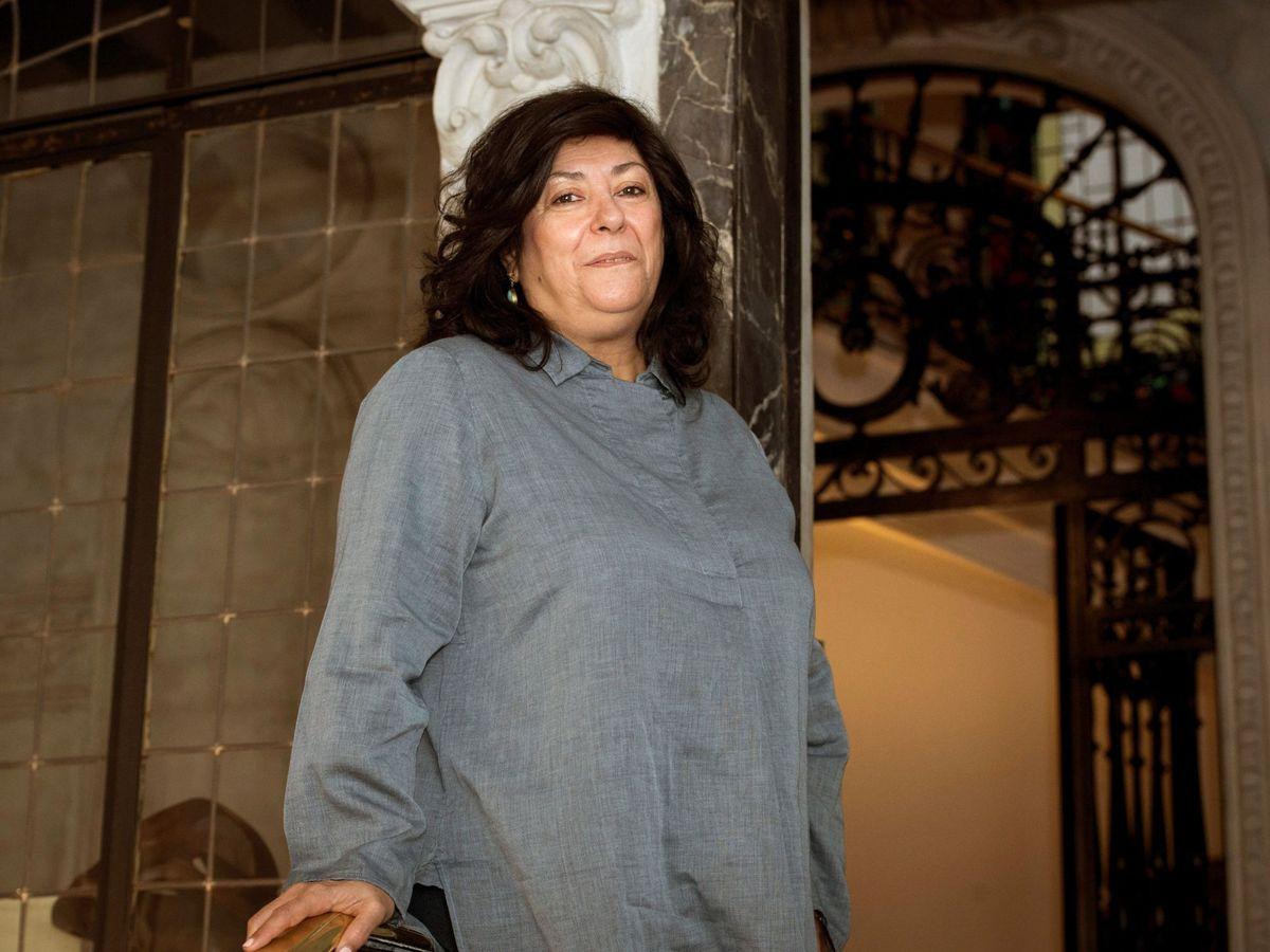 Foto: Almudena Grandes, en una foto en 2020. (EFE)