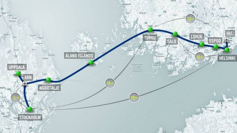 500 km en 30 minutos: el plan para unir Suecia y Finlandia con Hyperloop