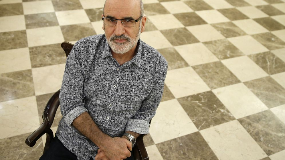 Foto: Fernando Aramburu, autor de 'Patria' (Efe)