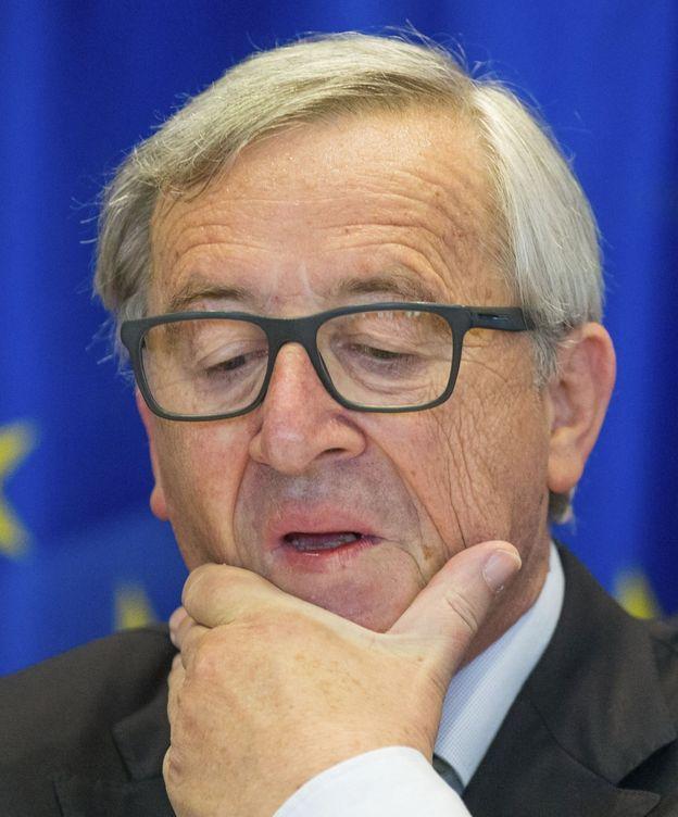 Foto: Juncker comparece antes la comisión de investigación de los papeles de Panamá. (EFE)