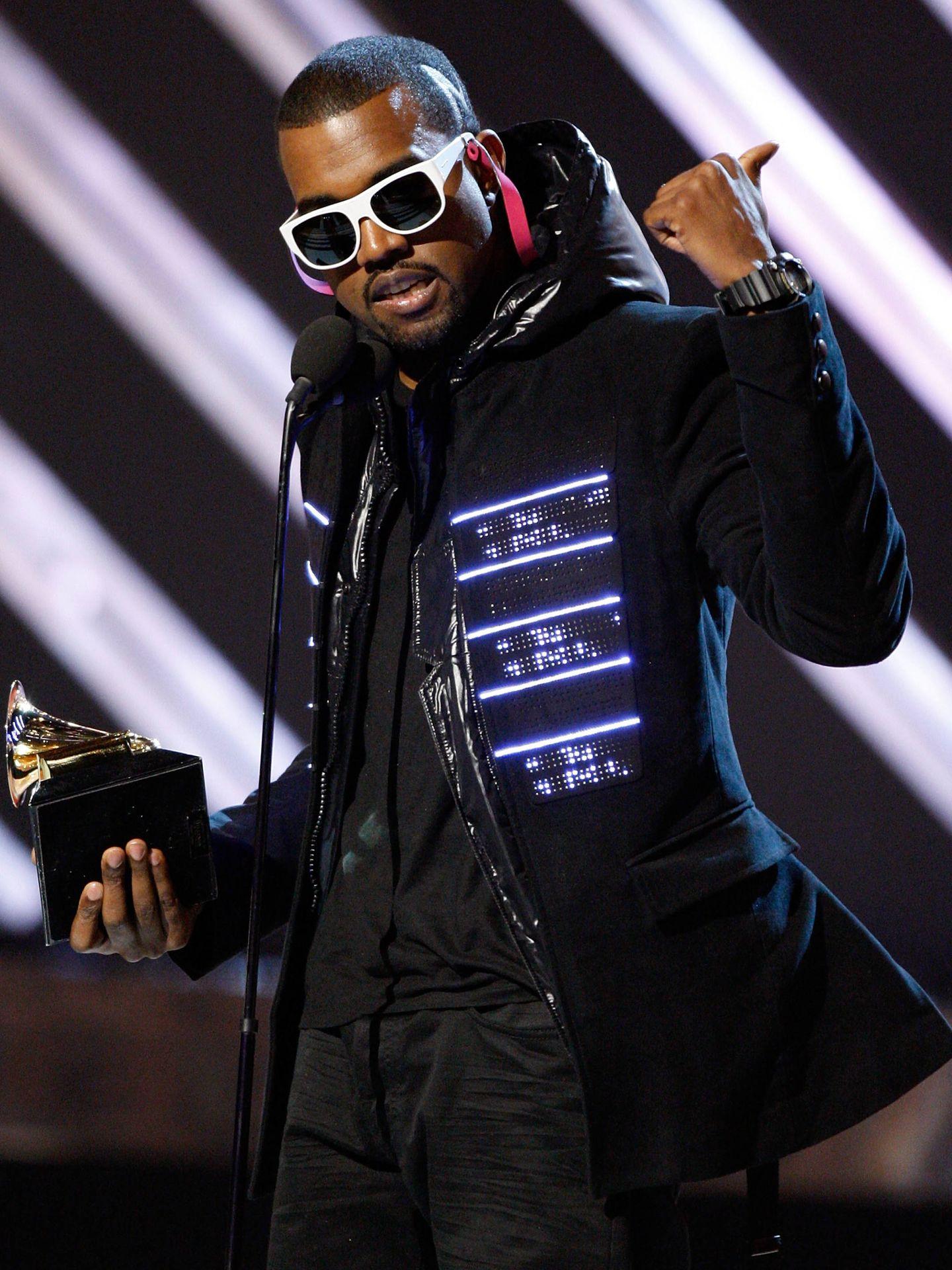 Kanye West, con la chaqueta de Matthew M Williams. (Getty)