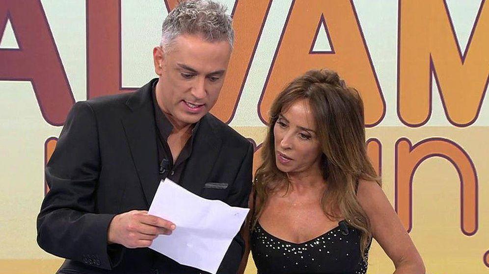 Foto: Kiko Hernández y María Patiño. (Telecinco)