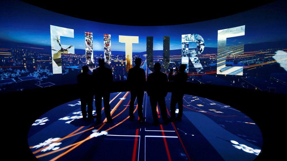 Foto: Presentación de 'Neom', la nueva ciudad de Arabia Saudí, en Riad. (Reuters)