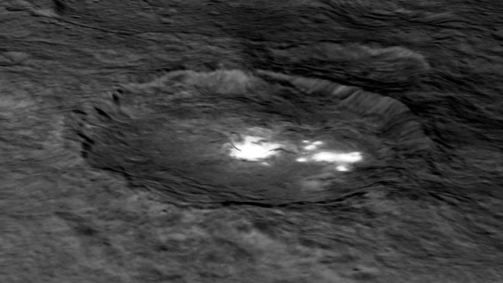 Las misteriosas luces de Ceres ya tienen una (posible) explicación