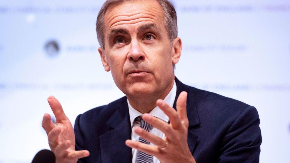 Foto: Mark Carney, gobernador del BoE. (Efe)