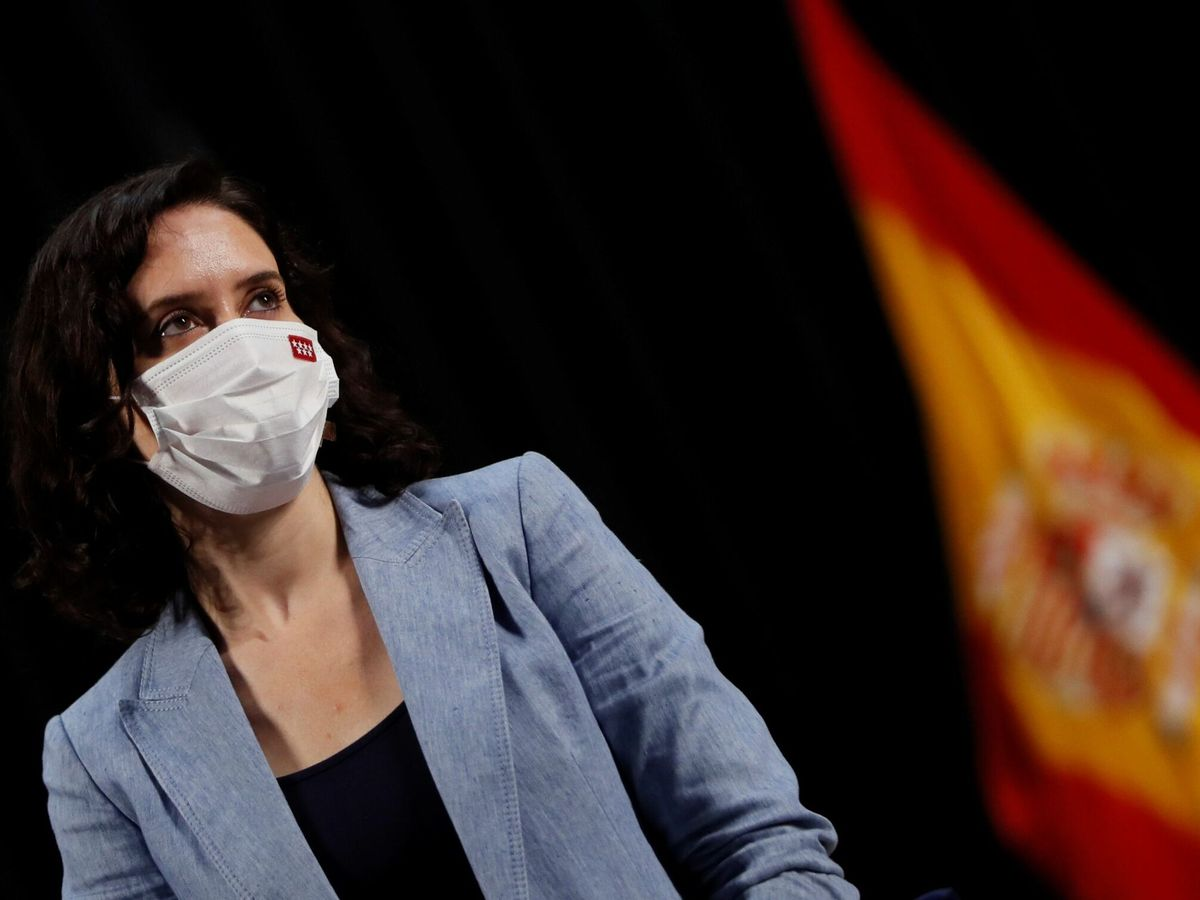 Foto: La presidenta madrileña, Isabel Díaz Ayuso. (EFE)