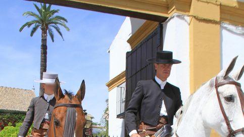 El hijo de Cayetano Martínez de Irujo ya participa en concursos hípicos