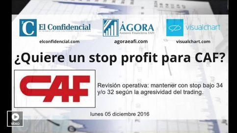 ¿Quiere un 'stop profit' para CAF?