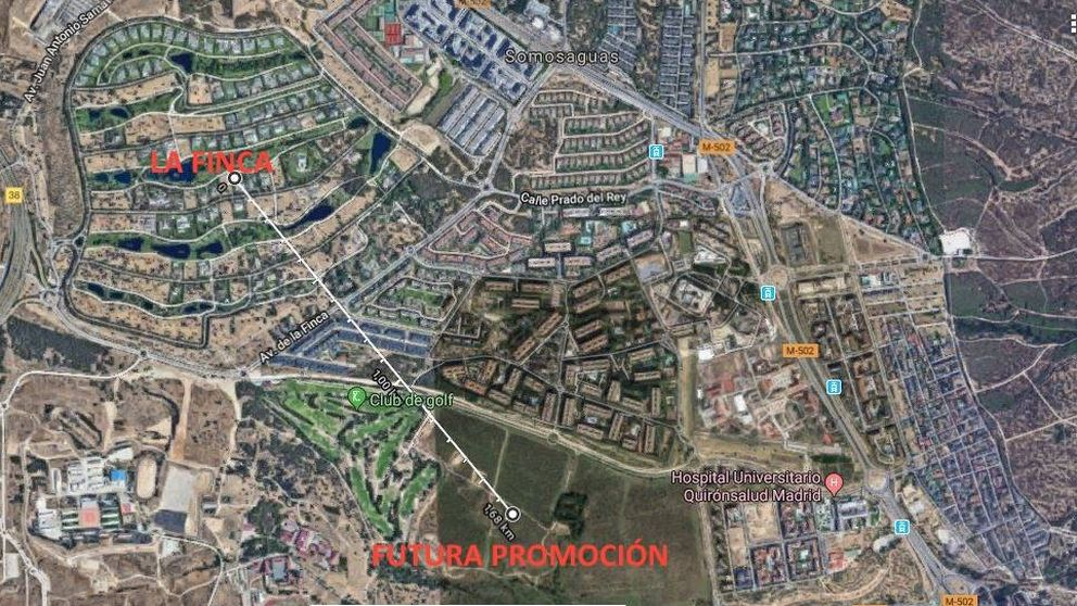 Nuevo proyecto de lujo junto a La Finca, la urbanización de celebrities y futbolistas