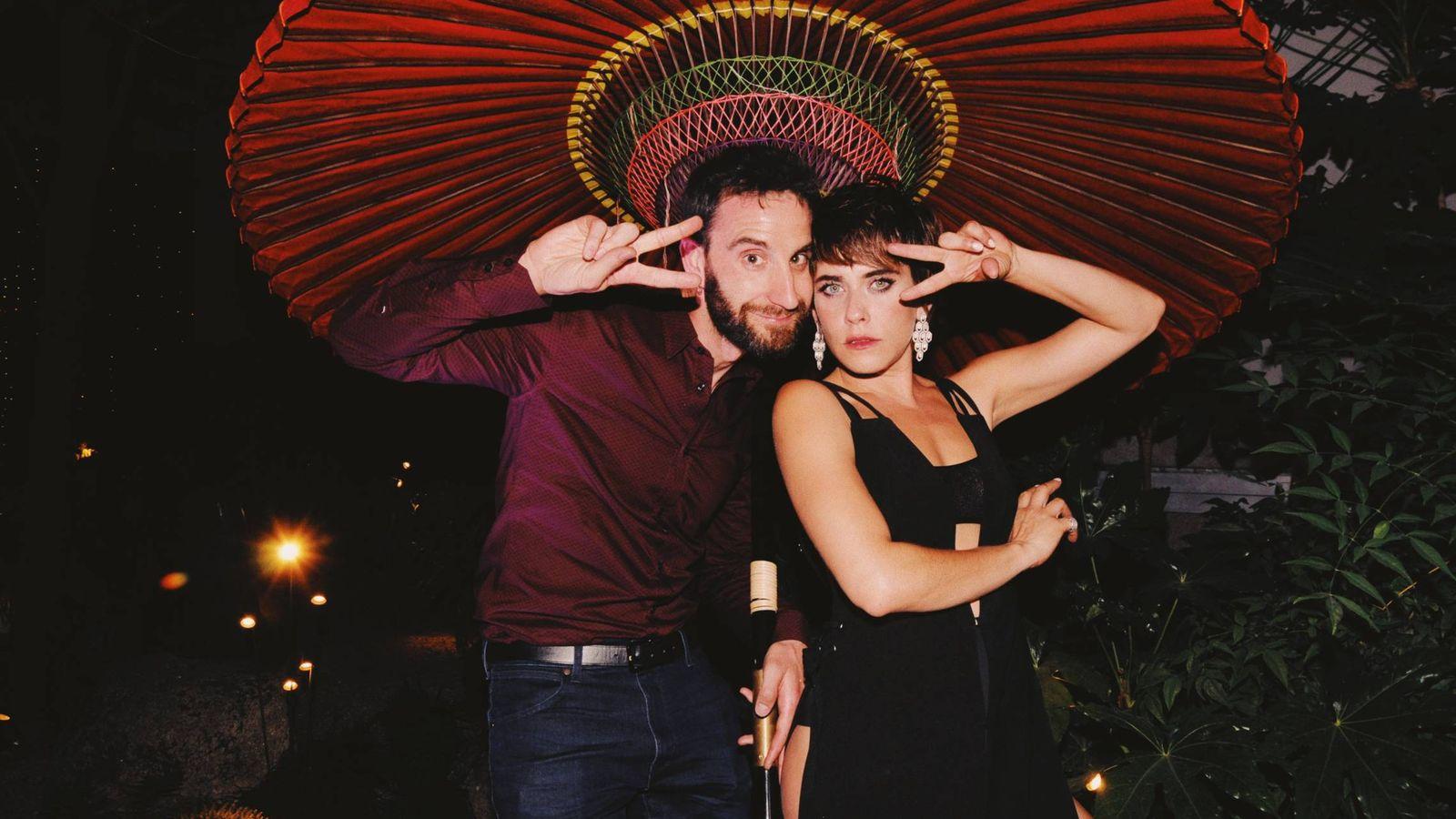 Foto: Dani Rovira y María León. (Imagen: Pepino Marino)