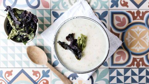 Crema de coliflor y alga kombu, un giro exótico a un plato clásico