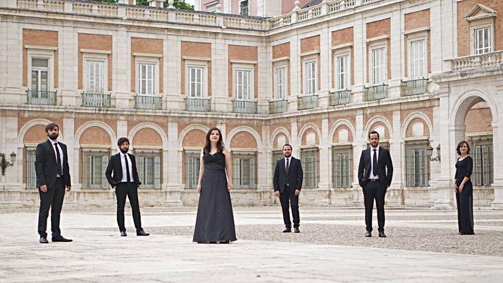 Foto: Concerto 1700 se presenta en el Café Comercial de Madrid.