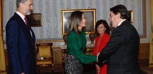 Post de La reina Letizia saca su lado animal en el palacio de Aranjuez