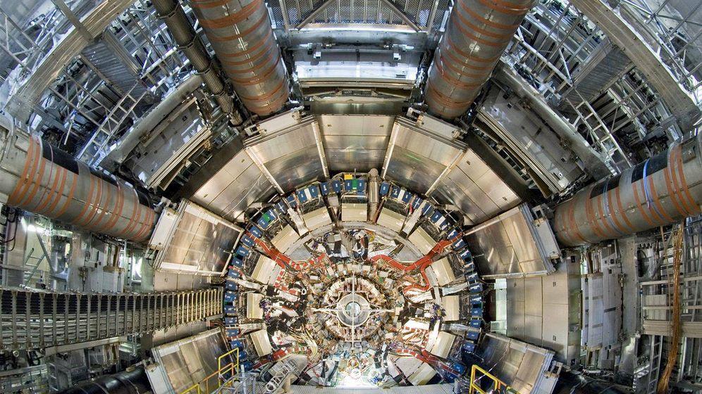 Foto: El experimento ATLAS en el LHC
