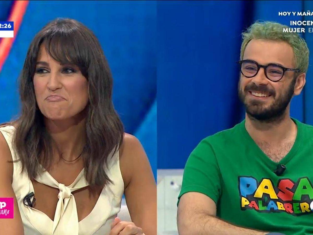 Foto: Lorena García y Pablo Díaz. (Atresmedia Televisión)