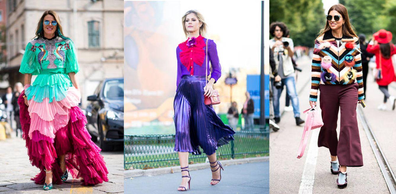 Foto: Que la mezcla de colores (o no) nunca arruine tu estilismo cuando tengas un compromiso. (Fotos: Imaxtree)