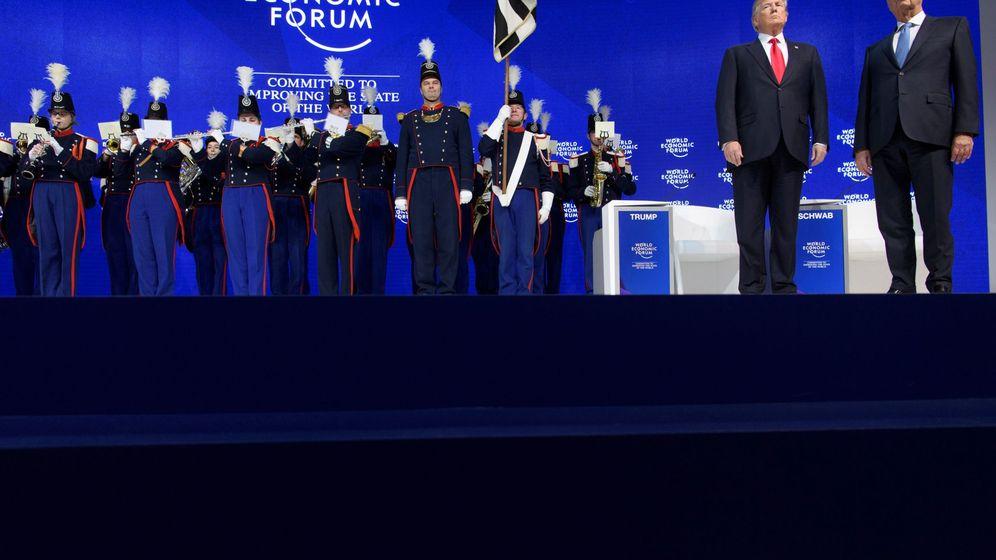 Foto: Foro Económico Mundial de Davos. (EFE/Laurent Gillieron)