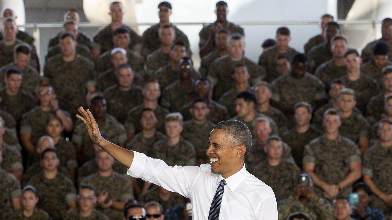 Foto: Todas las fotos del viaje de Obama a España