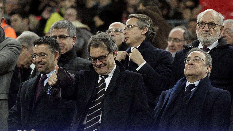 Mas: Si sonara el himno catalán en el Bernabéu habría una pitada monumental