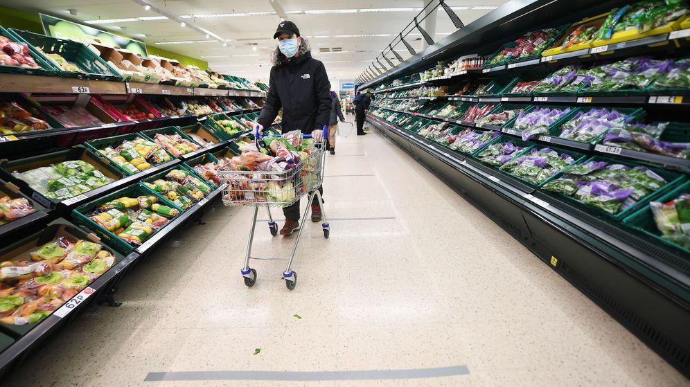 Foto: Un supermercado en Londres. (EFE)