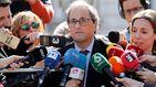 Quim Torra defiende la declaración de Jordi Cuixart en el juicio del 'procés': Ha sido un alegato histórico