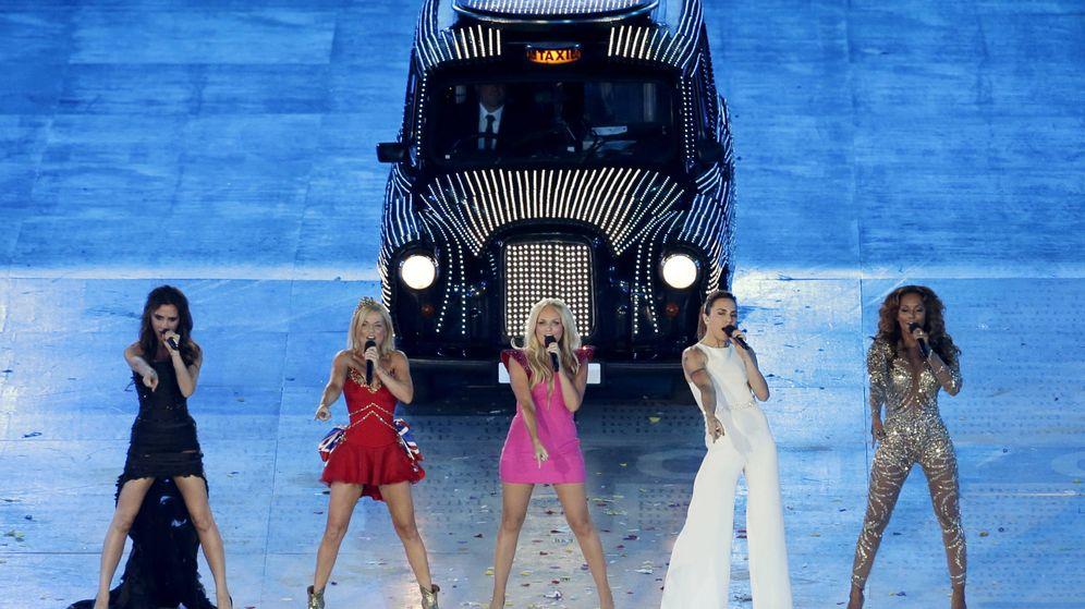 Foto: Spice Girls en una imagen de archivo en los Juegos Olímpicos de Londres 2012. (Gtres)