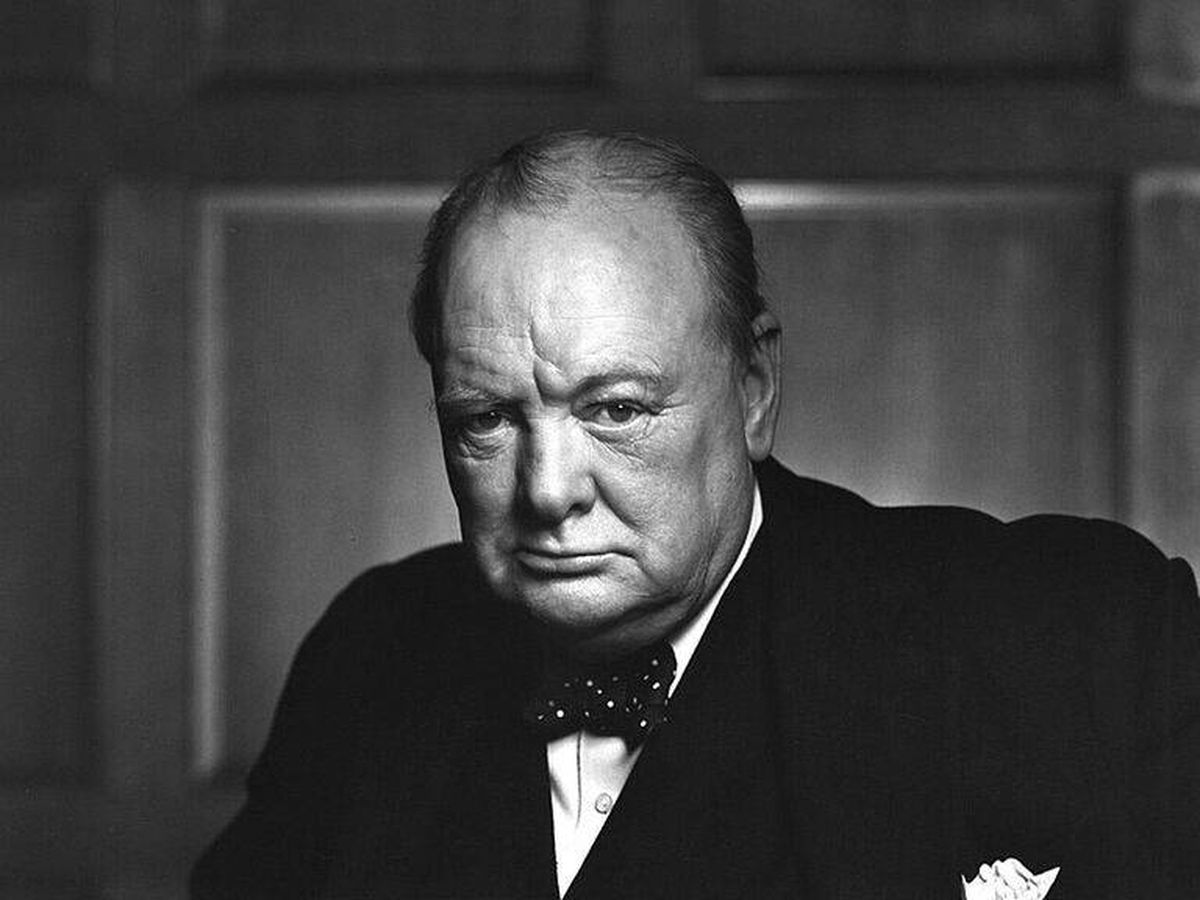 Foto: Winston Churchill.
